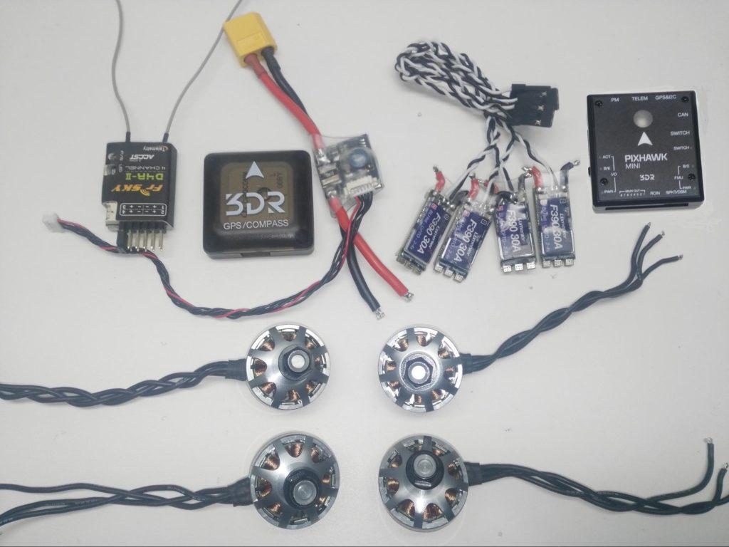 Lumenier Qav250 Pixhawk Mini Build